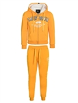 "Women's ""California"" Faux Sherpa Lined Zip Up Hoodie with Applique and Joggers Set"
