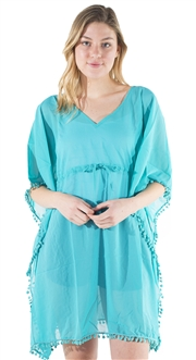 Women's Sheer Swim Cover Up Dress