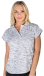 Ladies Short Sleeve Hanging Polo Shirt