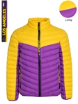 Men's Team Themed Colors Puffer Jacket