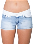 Women's Low Rise Denim Shorts