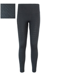 Women's Plus Size Knit Fleece Lined Textured Leggings