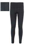 Women's Knit Fleece Lined Textured Leggings
