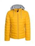 Ladies Melange Flacket Puffer Jacket