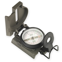 NDuR Lensatic Compass w/ Metal Case