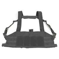 BL FORCE TEN SPEED CHEST RIG M4 BLK