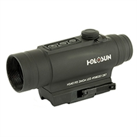 HOLOSUN 2MOA RED DOT 30MM SIDE LASER