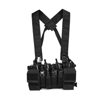 HALEY D3CR X CHEST RIG MC BLK