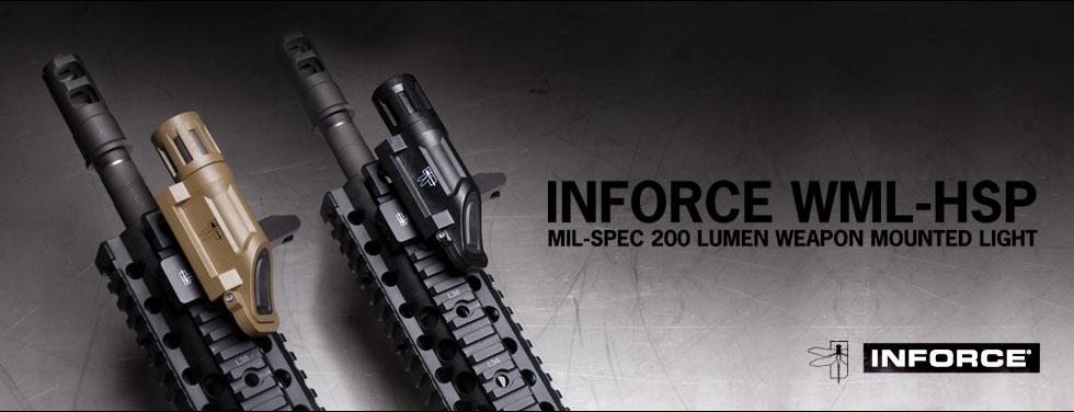 hsp inforce wml hsp 200lumen weaponlight