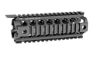 MI Gen2 Two Piece Drop-In Handguard, Carbine Length Black