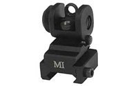 MIDWEST INDUSTRIES ERS REAR FLIP UP SIGHT- BLACK