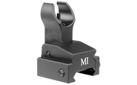Flip Up Front Sight, Handguard Rail Model - Black