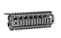 MIDWEST INDUSTRIES GEN2 2-PC DROP IN RAIL BLACK- CARBINE LENGTH 7""