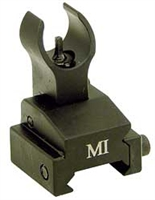 MIDWEST INDUSTRIES ERS FRONT FLIP UP SIGHT- RAIL MOUNT BLACK