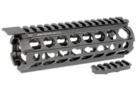 MIDWEST INDUSTRIES K-SERIES KEYMOD 2-PC DROP IN RAIL - CARBINE LENGTH