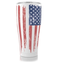 SIC 30oz AMERICAN FLAG STAINLESS STEEL CUP