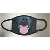 BLACK LABRADOR RETRIEVER FACE MASK