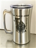 Beer Stein Stainless Steel Double Walled Tumbler FREE CUSTOM ENGRAVING