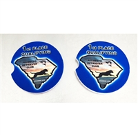 CAR COASTERS Set of 2 Coasters SANDSTONE COASTER