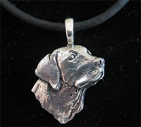 Labrador Retriever Head Pendant