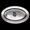 OVAL SILVER TRAY 12 inch CUSTOM ENGRAVED