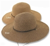 "Women's 4"" Brim Hat with Chin Strap"