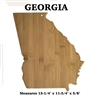 State Bamboo Wood Cutting Board - Free Engraving