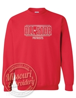 ALL STAR PATRIOT Unisex Foil Comfy CREW