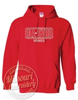 ALL STAR PATRIOT FOIL Hoodie