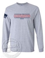 ALL STAR Patriot Long sleeve- Flag