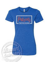 ALL STAR PATRIOT LADIES CUT GLITTER Tshirt- SUPER SOFT