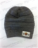 CRSA GREY BRAIDED BEANIE