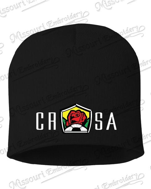 CRSA BLACK BEANIE 984b0a983731