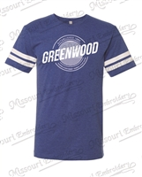 GREENWOOD STRIPED SLEEVE T-SHIRT