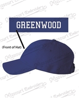 GREENWOOD Embroidered hat