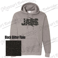 Jags Hooded Sweatshirt BLING