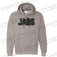 Jags Hooded Sweatshirt (black letters)