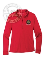 PROBATION & PAROLE LADIES PERFORMANCE LONG SLEEVE POLO