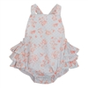BLUE ROSE SUN SUIT BABY ROMPER