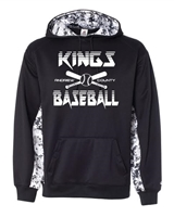 AC KINGS DIGITAL CAMO COLORBLOCK HOODIE