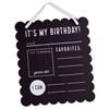 BIRTHDAY CHALKBOARD SIGN