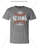 NO CRYING IN BASEBALL DEEP HEATHER T-SHIRT