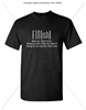 FITish Black T-shirt