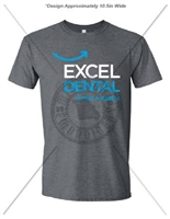 EXCEL DENTAL UNISEX CUT BASIC T-SHIRT