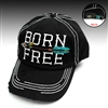 BORN FREE BLACK HAT
