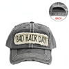 BAD HAIR DAY BLACK GREY HAT