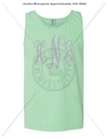ISLAND REEF FANCY JUMBO MONOGRAM TANK