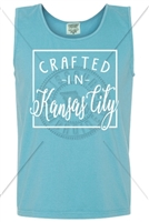 "CRAFTED IN ""PICK YOUR CITY"" TANK - LAGOON"