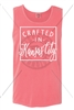"CRAFTED IN ""PICK YOUR OWN CITY"" TANK - WATERMELON"