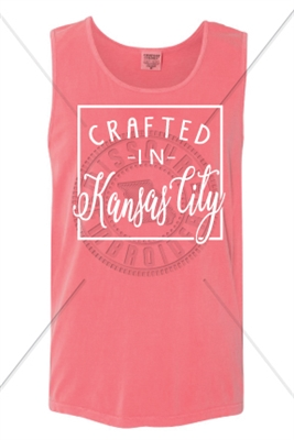 CRATED IN KANSAS CITY TANK - WATERMELON